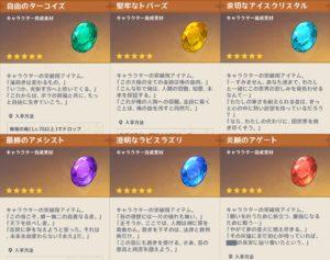 【原神】宝石のこの説明って七神のセリフだよな!? ← ショウリ先生www