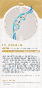 【原神】終焉弓ウェンティと龍殺しスクロースのサポート性能を比較した結果はこうなる!?