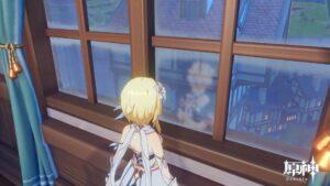 【ネタ】ジン団長の部屋で窓はラーの鏡か?